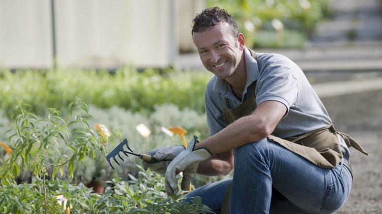 smilende gartner